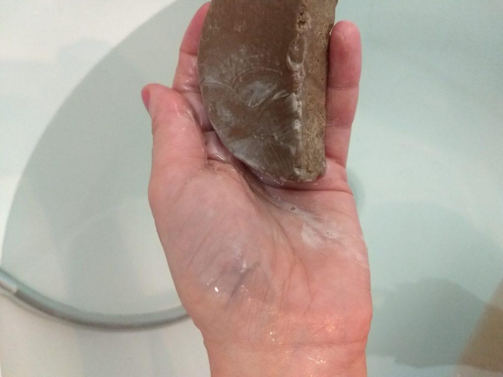Shampoing solide Comme Avant au rhassoul et à l'huile d'Argan